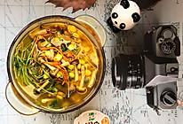 虫草花素什锦汤的做法