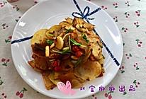 椒香土豆片的做法
