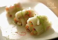 冬瓜海鲜卷的做法