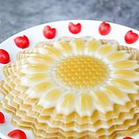 向日葵椰汁千层马蹄糕的做法图解10