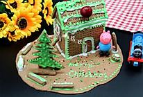 巧克力饼干屋#圣诞烘趴  为爱起烘#的做法