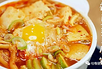 辣白菜豆腐锅的做法