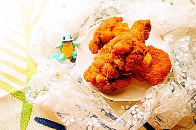 香辣炸鸡翅—感恩节