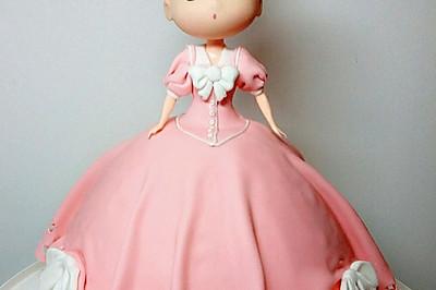 翻糖蛋糕--梦幻小公主