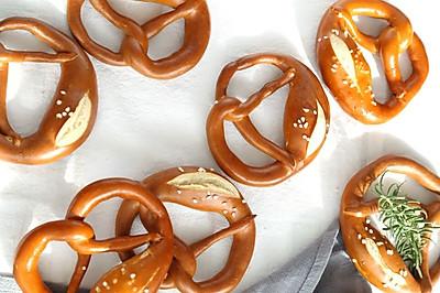 德国碱水面包Pretzel