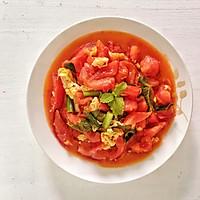 #就是红烧吃不腻!#薄荷叶番茄炒鸡蛋的做法图解8