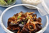 黑木耳炒黄花菜的做法