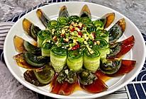 高颜值凉菜‼️凉拌黄瓜皮蛋的做法