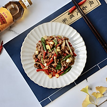 辣椒小炒牛肉#金龙鱼外婆乡小榨菜籽油 外婆的时光机