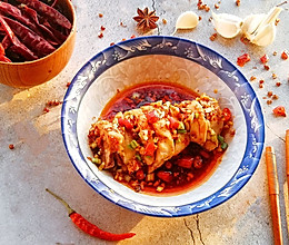 #快手又营养,我家的冬日必备菜#麻辣鲜香的口水鸡,好吃又过瘾的做法