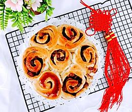 #豆果10周年生日快乐#红糖葡萄干面包卷的做法
