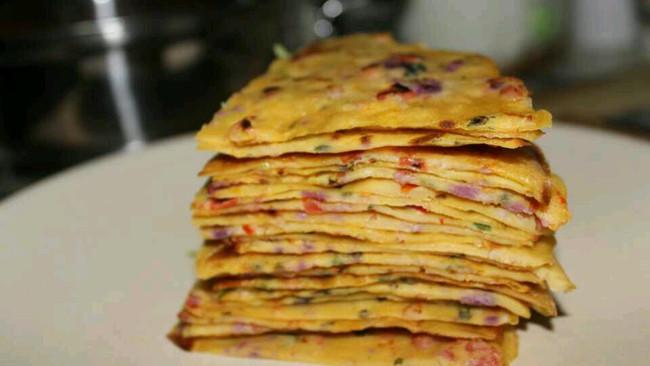 培根紫薯葱花鸡蛋饼………另类披萨的做法