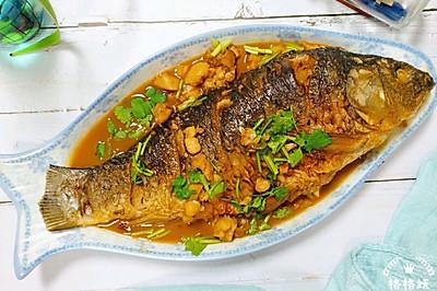 入味不粘锅:红烧鲤鱼