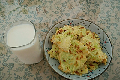 快手早餐—清香黄瓜鸡蛋饼