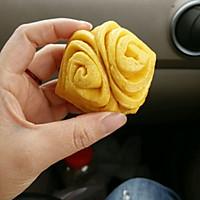 奶香南瓜花式馒头的做法图解4
