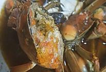 蒸姜味红糖老酒大闸蟹的做法