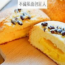 吃一点,没关系!红豆奶酥面包太好吃了吧!