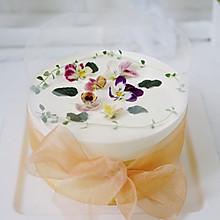 鲜花雪崩蛋糕