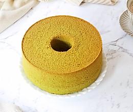 抹茶8寸中空戚风蛋糕的做法