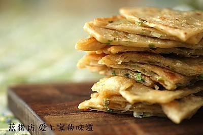简单易做又美味的葱油饼
