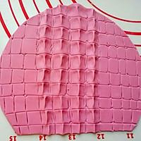 翻糖--鳄鱼纹包包的做法图解13