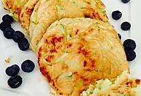 早餐一西葫芦鸡蛋烀饼子+芹菜黄豆下饭菜的做法