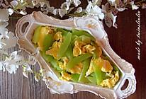 春季养生菜|莴笋炒鸡蛋的做法