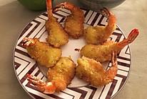 日式炸虾(简单)的做法