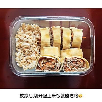 【一人食健身菜单】牛肉蔬菜卷