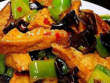 家常豆腐(随手拿起来的材料就是美味)