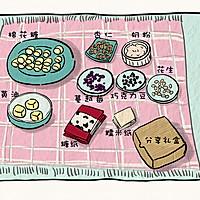 厨爱餐包——乐享牛轧糖漫画教程的做法图解1