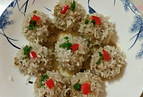 糯米蒸肉丸的做法