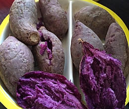 紫薯的做法