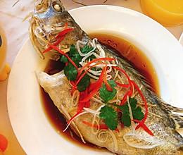 #钟于经典传统味#清蒸桂鱼|简单易学|新手一秒变厨神的做法