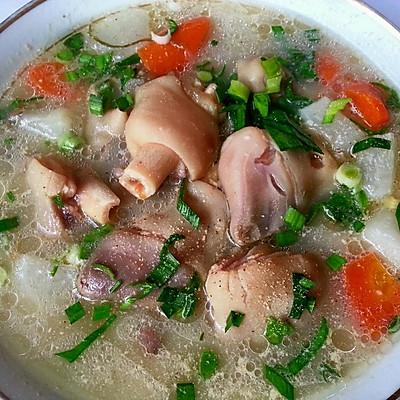 羊蹄萝卜浓汤