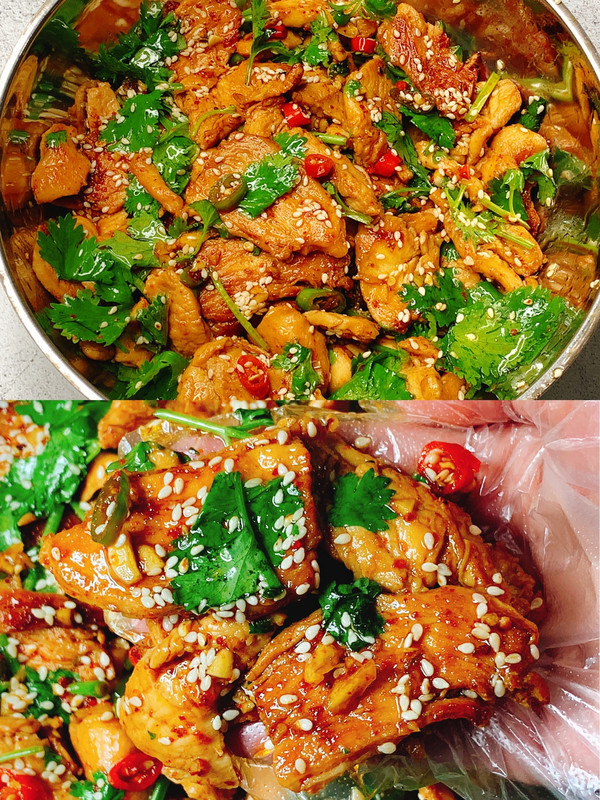 鸡胸肉这样做分分钟光盘❗️香辣过瘾超下饭