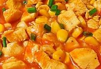 茄汁玉米鸡胸肉的做法