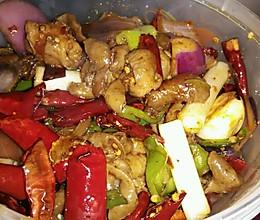 香锅肥肠的做法
