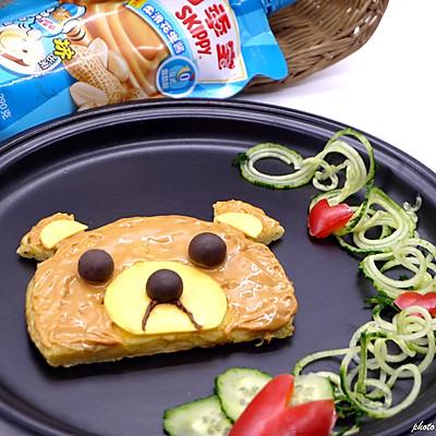 熊型土豆早餐饼