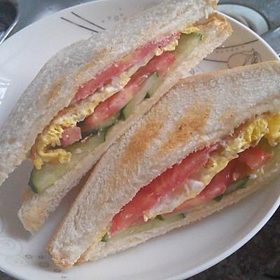 三分钟简易三明治早餐