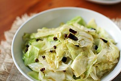 最上瘾的绝味川菜——炝炒莲花白