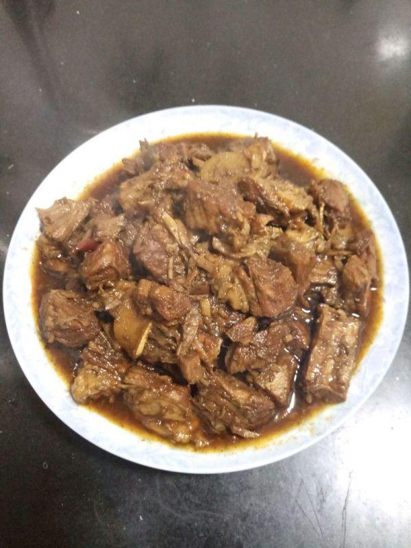 家常高压锅炖牛肉的做法