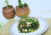 素食:菠菜香菇的做法