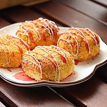 #安佳马苏里拉芝士挑战赛#金枪鱼可乐饼