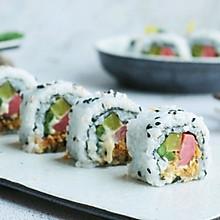 芦笋肉松反转寿司