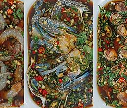 潮汕风味生腌海鲜的做法