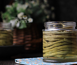 【自制酸豆角】——泡制下饭神料的做法