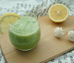 【美白果蔬汁】黄瓜柠檬汁的做法