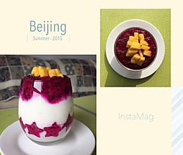火龙果思暮雪-果语榨汁机的做法