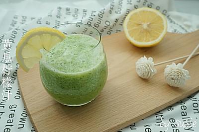 【美白果蔬汁】黄瓜柠檬汁